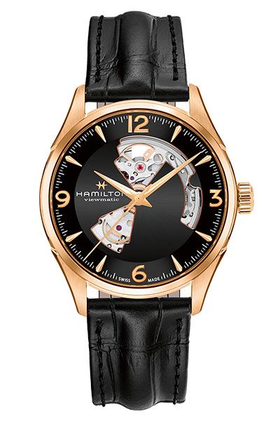 【メーカー取り寄せ】【ノベルティプレゼント】HAMILTON ハミルトン JAZZMASTER (ジャズマスター) OPEN HEART AUTO (オープンハートオート) H32735731 【時計 腕時計】