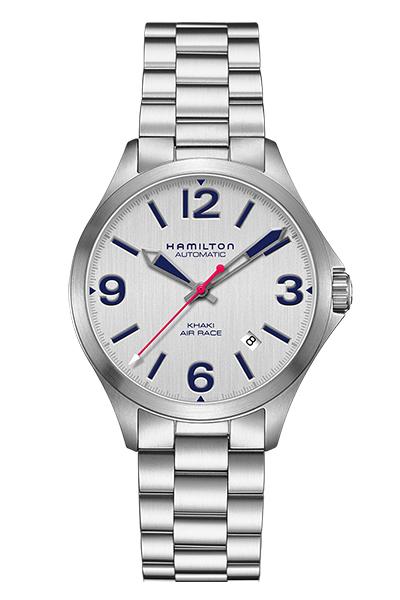 【ノベルティプレゼント】【メーカー取り寄せ】HAMILTON ハミルトン KHAKI AVIATION (カーキ アビエーション) AIR RACE 38MM (エアレース38ミリ) H76225151 【時計 腕時計】