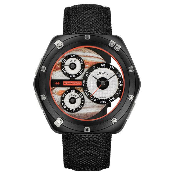 【ノベルティプレゼント】 HAMILTON ハミルトン AMERICAN CLASSIC (アメリカンクラシック) ODC X-03 H51598990 【時計 腕時計】