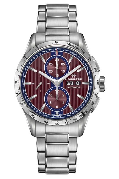 【ノベルティプレゼント】【メーカー取り寄せ】 HAMILTON ハミルトン BROADWAY(ブロードウェイ) AUTO CHRONO(オートクロノ) H43516171 【時計 腕時計】