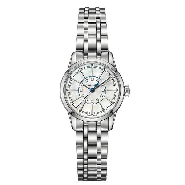 【4,000円OFFクーポン】【ノベルティプレゼント】【メーカー取り寄せ】HAMILTON ハミルトン AMERICAN CLASSIC(アメリカンクラシック) RAILROAD LADY QUARTZ(レイルロードレディ クオーツ) H40311191 【時計 腕時計】