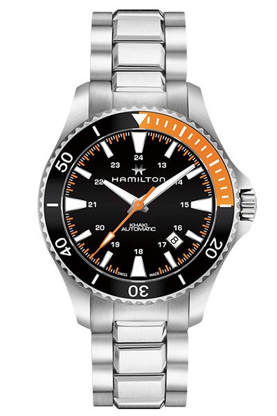 【ノベルティプレゼント】 HAMILTON ハミルトン KHAKI NAVY(カーキ ネイビー) SCUBA AUTO(スキューバ オート) H82305131 【時計 腕時計】