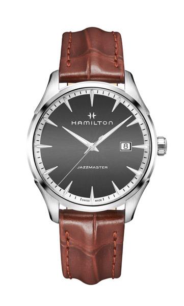 【メーカー取り寄せ】【ノベルティプレゼント】 HAMILTON ハミルトン Jazzmaster Gent (ジャズマスター ジェント) H32451581 【時計 腕時計】