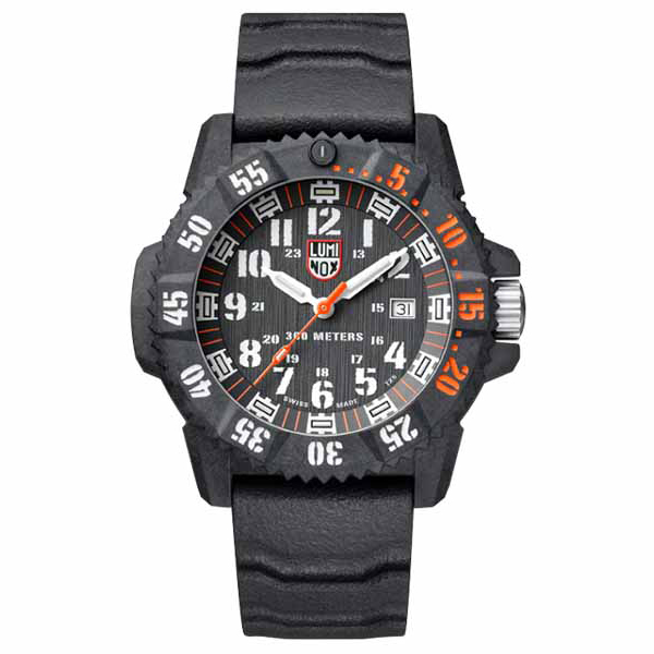 【たっぷりポイントMAX10倍! ショッピングローンMAX60回無金利】LUMI NOX(ルミノックス)MASTER CARBON SEAL 3800 SERIESRef.3801.C.SET【時計 腕時計】