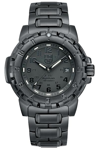 【たっぷりポイントMAX10倍! ショッピングローンMAX60回無金利】LUMI NOX(ルミノックス)F-117 NIGHTHAWK TM 6400SERIES Ref.6402BLACKOUT【時計 腕時計】