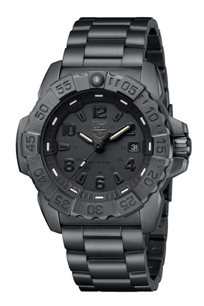 【たっぷりポイントMAX10倍! ショッピングローンMAX60回無金利】LUMI NOX(ルミノックス)Navy SEAL STEEL 3250SERIESRef.3252.BO(Blackout)【時計 腕時計】