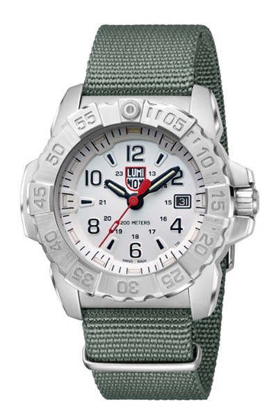【たっぷりポイントMAX10倍! ショッピングローンMAX60回無金利】LUMI NOX(ルミノックス)Navy SEAL STEEL 3250SERIESRef.3257【時計 腕時計】