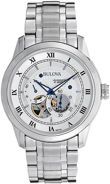 【たっぷりポイントMAX10倍! ショッピングローンMAX60回無金利】【送料無料】【国内正規品】BULOVA(ブローバ)AUTOMATIC(オートマチック)96A118【時計 腕時計】