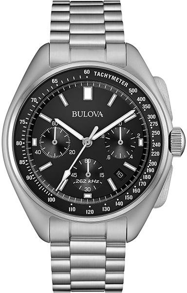 【たっぷりポイントMAX10倍! ショッピングローンMAX60回無金利】【送料無料】【国内正規品】BULOVA(ブローバ)MOON WATCH(ムーン ウォッチ)96B258【時計 腕時計】