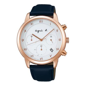 【ノベルティプレゼント】agnes b. アニエスベー MARCELLO! マルチェロ! メンズ FBRD940 腕時計