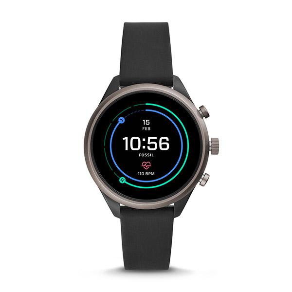 FOSSIL フォッシル スポーツスマートウォッチ レディース ブラック 41mm FTW6024 腕時計