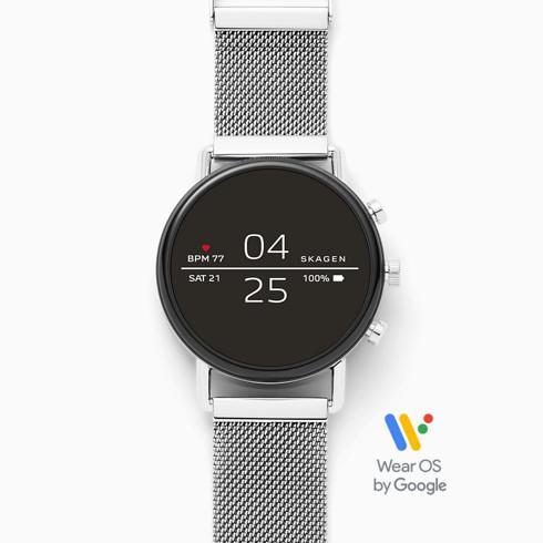 SKAGEN スカーゲン Smartwatch Falster 2 Magnetic Steel Mesh スマートウォッチ ファルスター2 マグネットスチールメッシュ メンズ SKT5102 腕時計