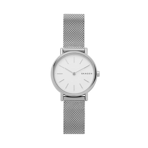 【たっぷりポイントMAX 10倍! おトクにGET!!】【送料無料】【国内正規品】SKAGEN(スカーゲン)Signatur Slim Steel Mesh WatchSKW2692 【時計 腕時計】