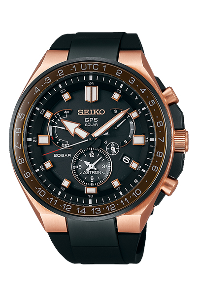 SEIKO セイコー ASTRON アストロン Executive Sports Line エグゼクティブスポーツライン メンズ ブラックSBXB170 腕時計