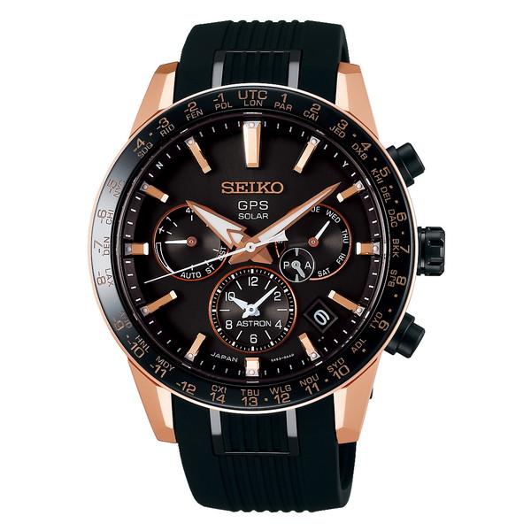 SEIKO セイコー ASTRON アストロン メンズ 5Xシリーズ デュアルタイム ブラック SBXC006 ソーラーGPS衛星電波時計 腕時計