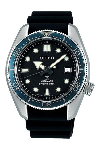 【ノベルティプレゼント】SEIKO セイコー PROSPEX プロスペックス Diver Scuba 1968 メカニカルダイバーズ 現代デザイン メンズ ブラック SBDC063 腕時計