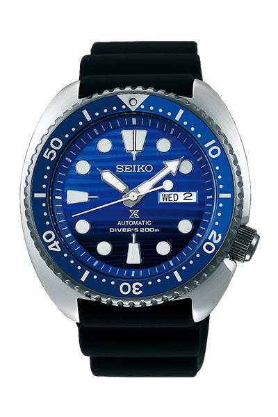 SEIKO セイコー PROSPEX プロスペックス Diver Scuba ダイバースキューバ Save the Ocean Special Edition オーシャンスペシャル・エディション メンズ ブラック ブルー SBDY021 腕時計