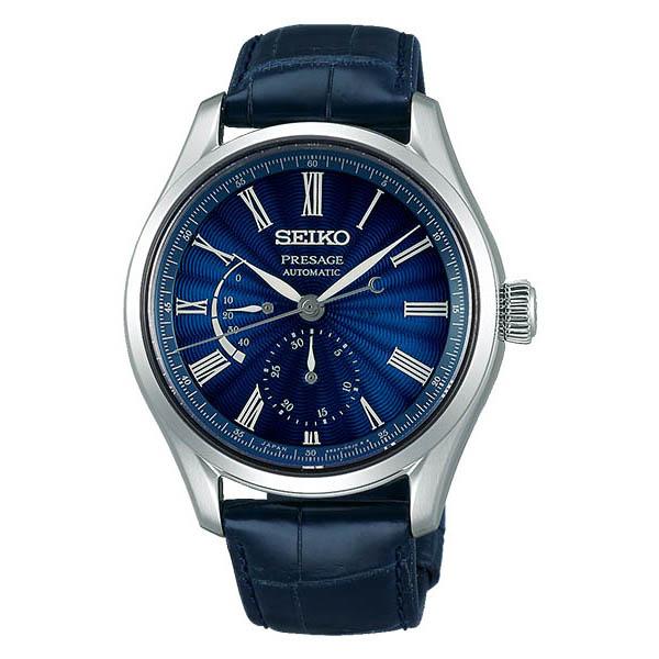【ノベルティプレゼント】SEIKO セイコー PRESAGE プレザージュ メンズ 七宝限定モデル 2500本限定 (国内1000本) ブルー SARW039 腕時計