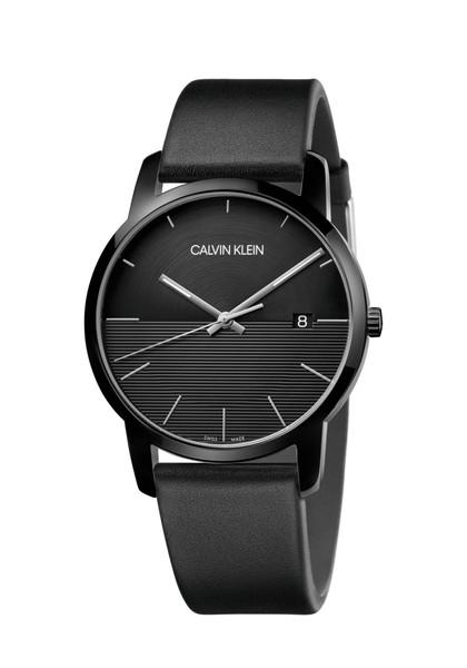 CALVIN KLEIN カルバンクライン CALVIN KLEIN City (extension) カルバン・クライン シティ(エクステンション) ブラック メンズ K2G2G4C1 腕時計