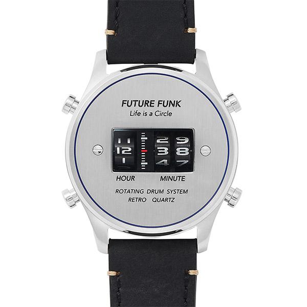 FUTURE FUNK フューチャーファンク メンズ シルバー FF102-SVBU-LBK