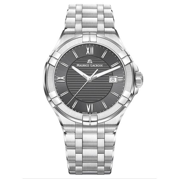 【ノベルティプレゼント】MAURICE LACROIX(モーリスラクロア) AIKON Date 42mm(アイコン デイト 42mm) AI1008-SS002-330-1【時計 腕時計】