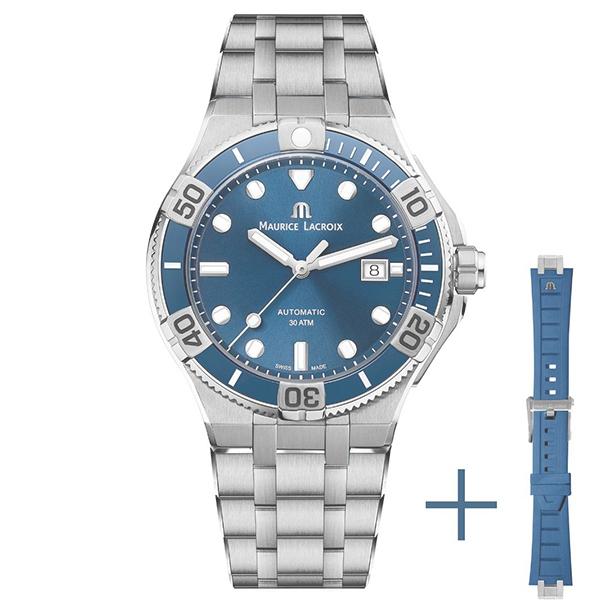 【ノベルティプレゼント】MAURICE LACROIX(モーリスラクロア) AIKON Venturer 43mm(アイコン ベンチュラー 43mm) AI6058-SS002-430-2【時計 腕時計】