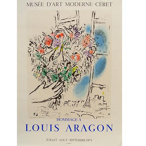 マルク シャガール:Hommage A Louis Aragon/ルイ アラゴンへの献辞