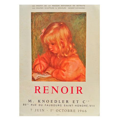 アウトレット 店舗 :オリジナルヴィンテージポスター オーギュスト ルノワール:RENOIR