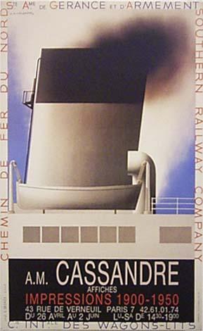 A. M. CASSANDRE  AFFICHES:ポスターA. M. カッサンドル【複製アートポスター】