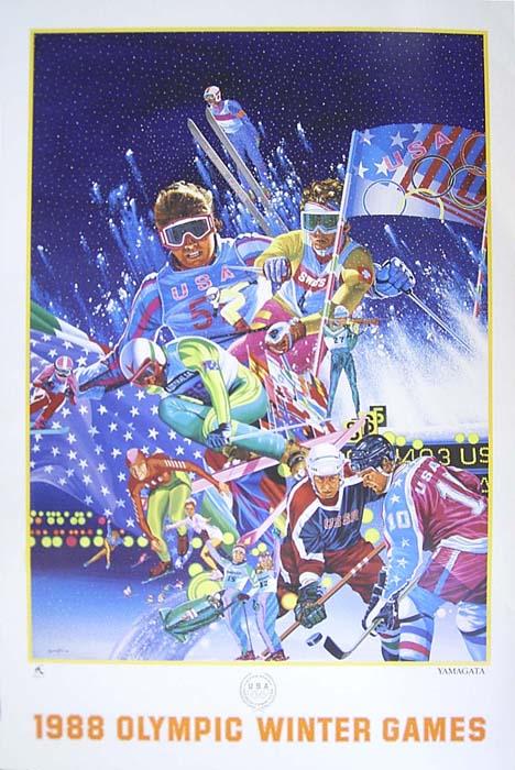 1988 Calgary OLYMPIC 【カルガリー オリンピック】