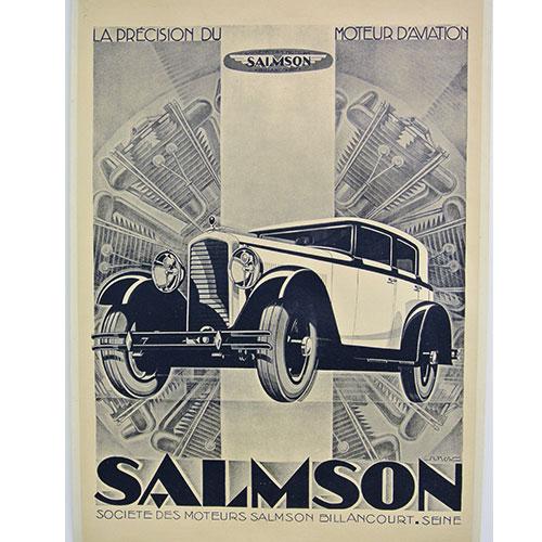 SALMSON【アートポスター】【シルクスクリーン】【ポップアート】【イベント広告ポスター】