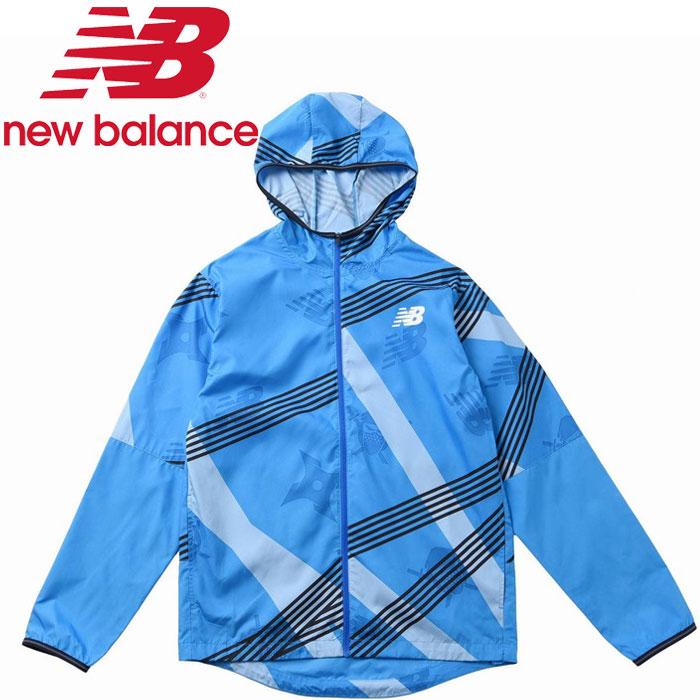 ◯20SS New Balance(ニューバランス) NB HANZO グラフィックジャケット(裏地なし) AMJ01210-VSB メンズ
