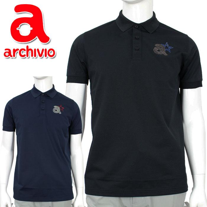 【在庫処分】【あす楽対応】アルチビオ ゴルフウェア ポロシャツ 半袖 A869306 メンズ 2019春夏