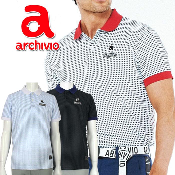 【あす楽対応】アルチビオ archivio ゴルフウェア 半袖ポロシャツ A969302 メンズ 2020年春夏