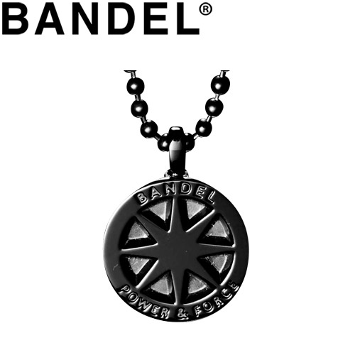 バンデル ネックレス Titanium Necklace Large Black