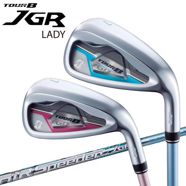 ブリヂストン ゴルフ 2019モデル TOUR B JGR LADY アイアン 単品 レディース