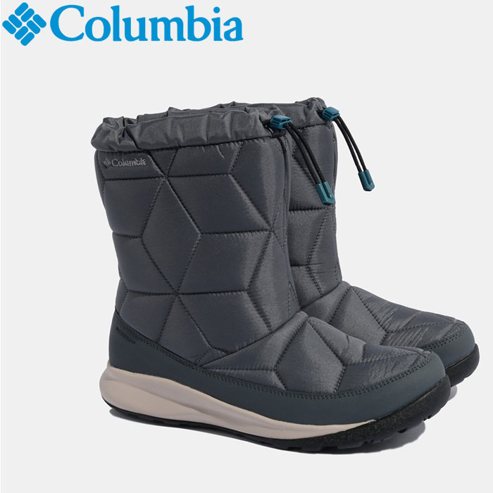 Columbia あす楽対応 コロンビア おすすめ特集 パウダーケッグミッド ブーツ ファクトリーアウトレット BL0840-053 ウインター レディース