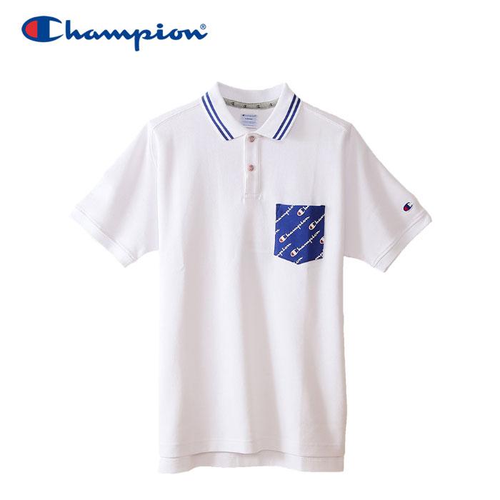 チャンピオン ポロシャツ ゴルフ C3-NS301-010 メンズ