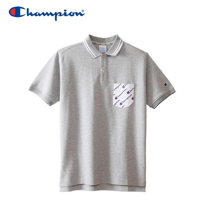 チャンピオン ポロシャツ ゴルフ C3-NS301-070 メンズ