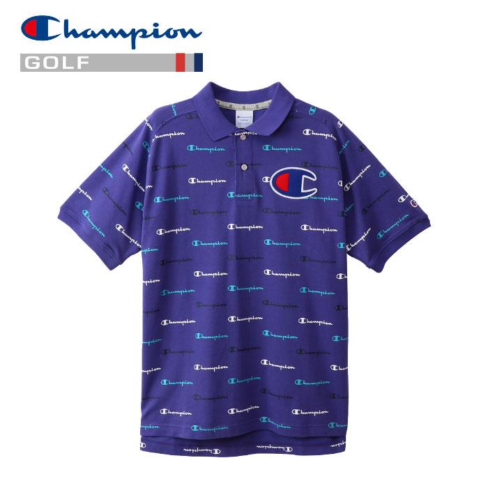 【あす楽対応】チャンピオン ゴルフウェア ポロシャツ C3-PG307-240 メンズ 2019春夏