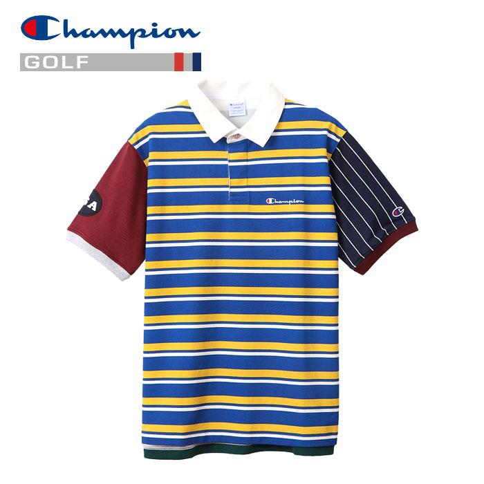 【あす楽対応】チャンピオン ゴルフ ポロシャツ C3-RG307-340 メンズ 2020 春夏