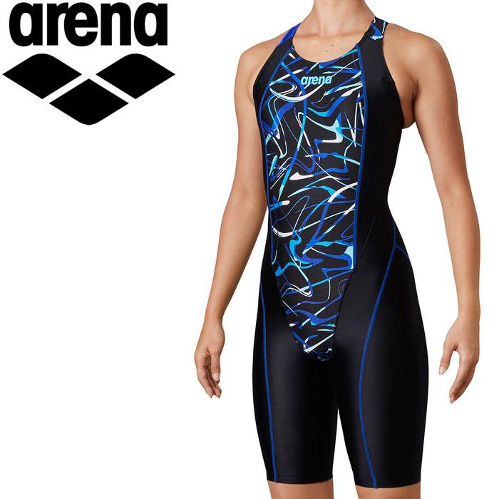 アリーナ 水泳 サークルバックスパッツ(ぴったりパッド)(着やストラップ) レディス LAR-0208W-BLU
