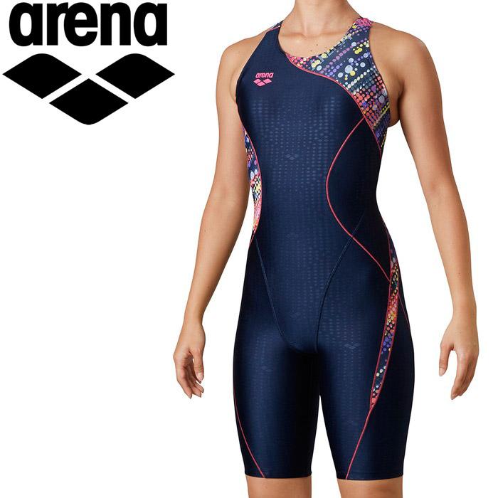 アリーナ 水泳 サークルバックスパッツ(ぴったりパッド)(着やストラップ) レディス LAR-0213W-PNK