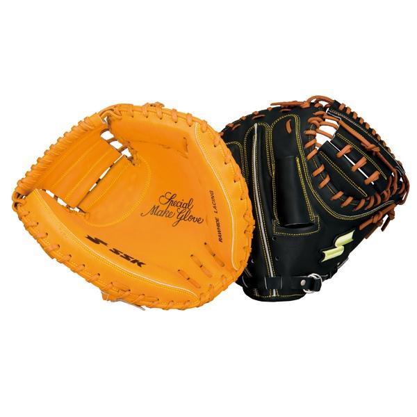 エスエスケイ SSK 野球 硬式ミット 硬式特選ミット 捕手用 SPM12-3747