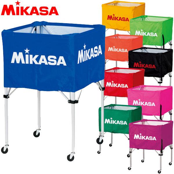 ミカサ MIKASA ボールカゴ 箱型 BC-SP-H フレーム・幕体・キャリーケース 3点セット バレー サッカー バスケ ハンド