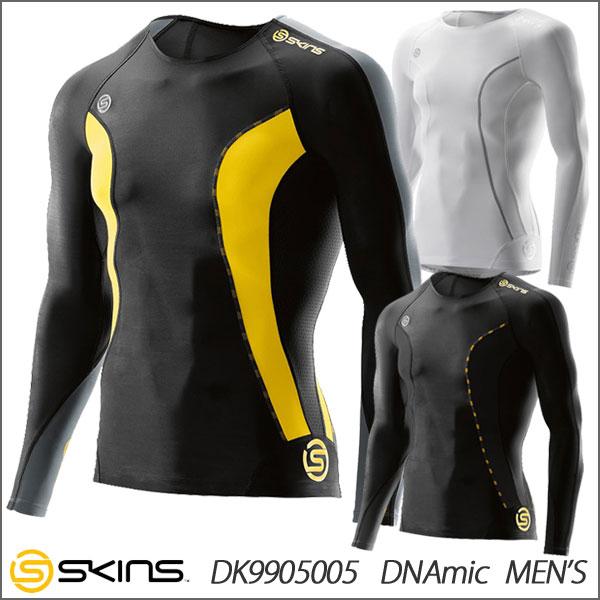 スキンズ DNAmic メンズ ロングスリーブトップ SKINS DK9905005