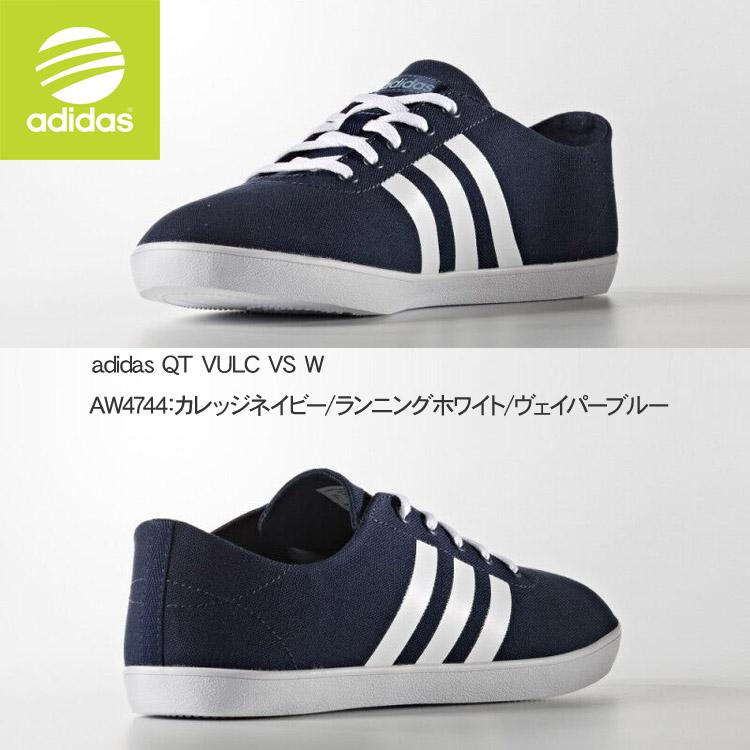 ★阿迪达斯运动鞋女士QT VULC VS W 16FW adidas AW5210 AW5211 AW5212