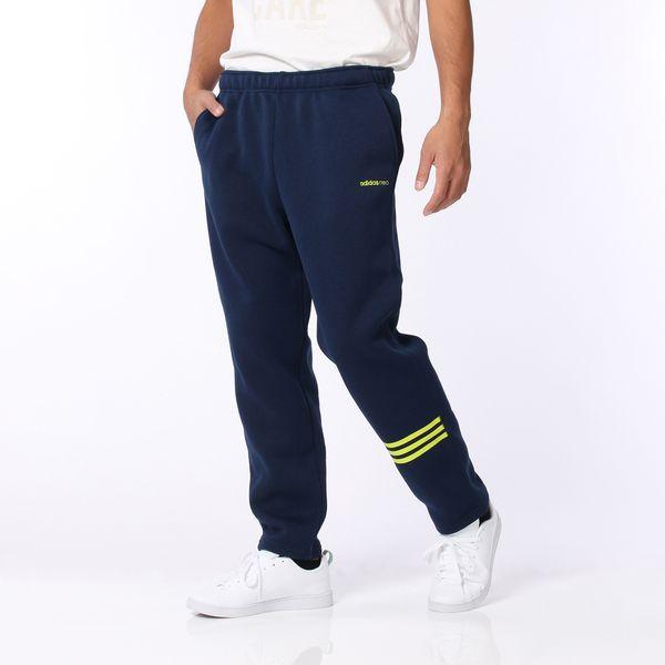 ○16FW adidas(阿迪达斯)HM编织物fleece 9分长裤子M BWV80-AZ6692人