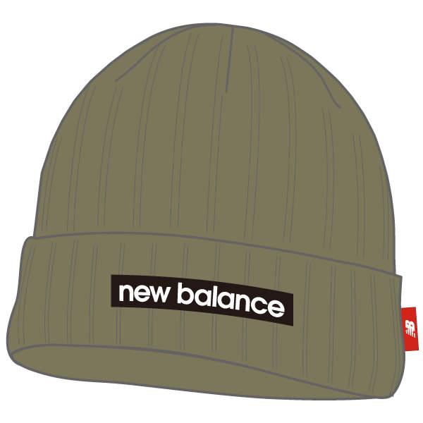 ○17SS New Balance(新平衡)训练帽子编织物便帽menzuredisurogobini JACL7230-CGN