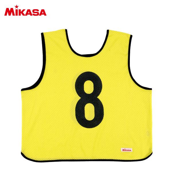 ○ミカサ ゲームジャケット レギュラー 10枚組 蛍光イエロー GJR210-KY